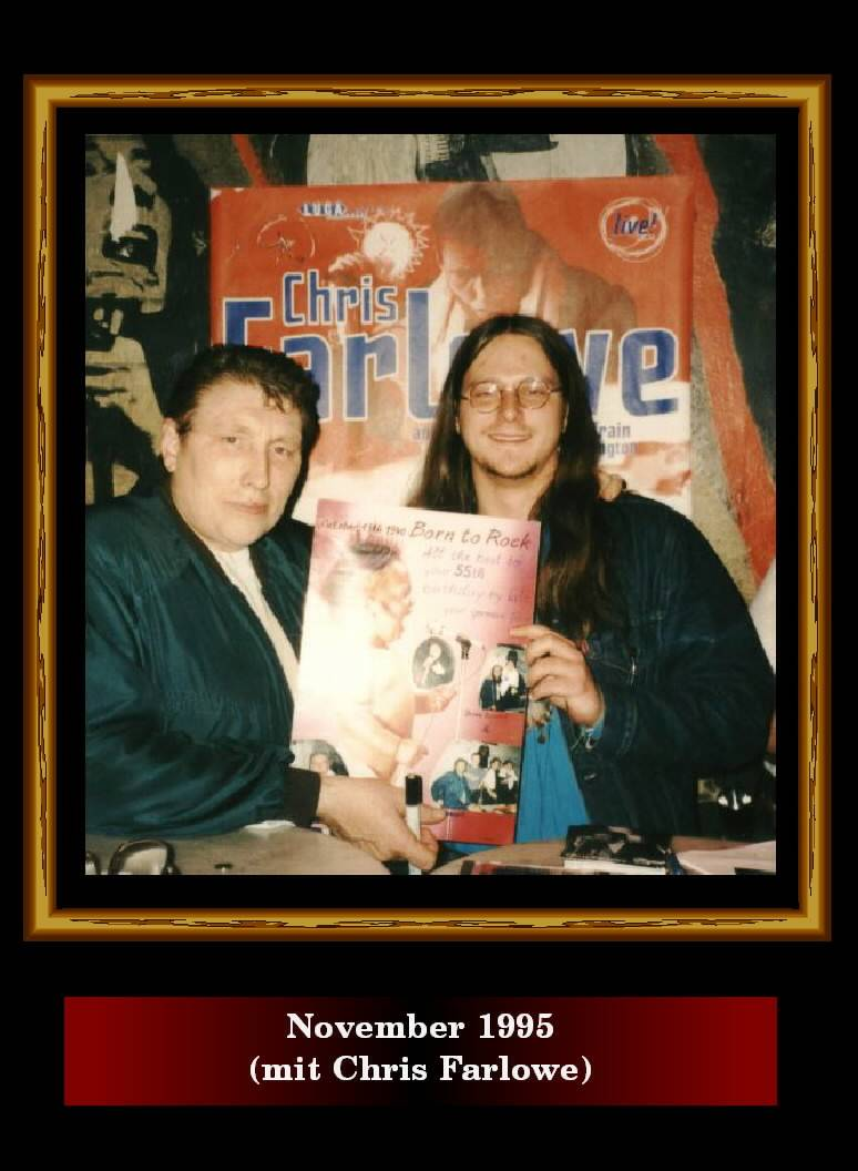 November 1995 (mit Chris Farlowe)