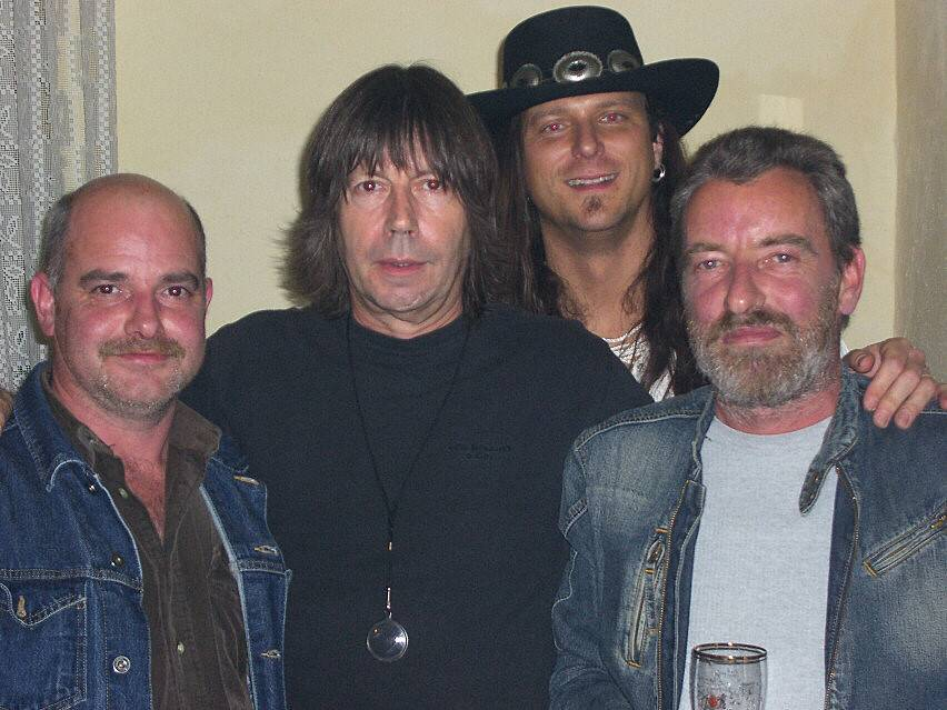 November 2006 (mit Detlef, Pat Travers & Roland)