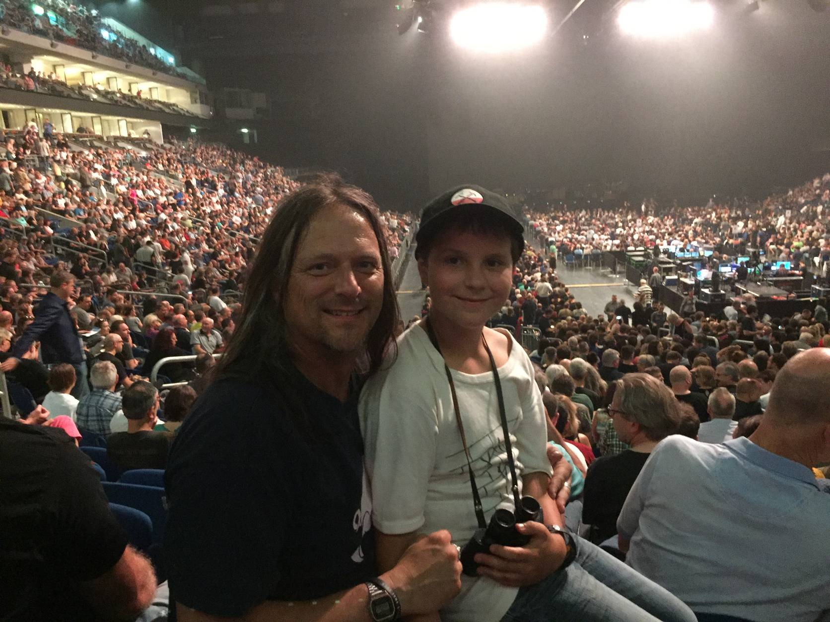 02.06.2018 (mit Calvin bei Roger Waters)
